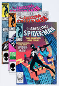 Modern Age (1980-Present):Superhero, The Amazing Spider-Man Group (Marvel, 1982-88) Condition: AverageVF-.... (Total: 51 Comic Books)