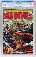 Silver Age (1956-1969):Adventure, Sea Devils #29 (DC, 1966) CGC NM 9.4 Off-white to white pages....