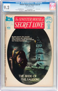 Bronze Age (1970-1979):Horror, Sinister House of Secret Love #3 (DC, 1972) CGC NM- 9.2 Off-whiteto white pages....