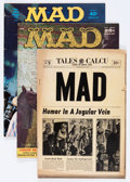 Magazines:Mad, Mad Group (EC, 1954-72).... (Total: 3 Comic Books)