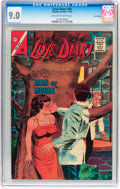 Silver Age (1956-1969):Romance, Love Diary #30 UK Edition (Charlton, 1963) CGC VF/NM 9.0 Off-whiteto white pages....