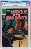 Silver Age (1956-1969):Horror, Movie Classics: Masque of the Red Death #nn Pacific Coast pedigree(Dell, 1964) CGC NM- 9.2 White pages....