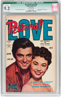 Golden Age (1938-1955):Romance, Personal Love #28 (Famous Funnies, 1954) CGC Qualified NM- 9.2Off-white pages....