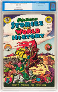 Golden Age (1938-1955):Non-Fiction, Picture Stories from World History #2 Gaines File pedigree 2/11(EC, 1947) CGC NM+ 9.6 Off-white pages....