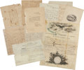 Autographs:Military Figures, [War of 1812]. William Boerum Naval Archive...