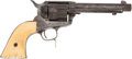 Handguns:Single Action Revolver, Colt Single Action Army Revolver with Ivory Grips....