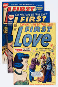 Golden Age (1938-1955):Romance, First Love Illustrated Group (Harvey, 1949-63) Condition: AverageVF.... (Total: 78 Comic Books)