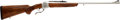 Long Guns:Single Shot, Custom Engraved 7mm Remington Magnum Ruger No. 1 Single Shot RifleAttributed to A.A. White....