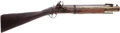 Long Guns:Muzzle loading, English-Style Brass-Barreled Flintlock Blunderbuss withSpring-Loaded Bayonet....