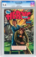 Golden Age (1938-1955):Non-Fiction, Heroic Comics #68 Salida pedigree (Eastern Color, 1951) CGC NM 9.4White pages....