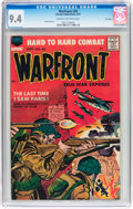 Silver Age (1956-1969):War, Warfront #30 File Copy (Harvey, 1957) CGC NM 9.4 Cream to of-white pages....
