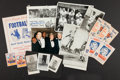 Football Collectibles:Others, Elroy Hirsch Signed and Unsigned Cards and Memorabilia Lot of 10....