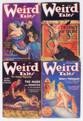 Pulps:Horror, Weird Tales Group (Popular Fiction, 1927-37) Condition: AverageGD+.... (Total: 5 Comic Books)