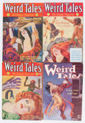 Pulps:Horror, Weird Tales Group (Popular Fiction, 1932-33) Condition: AverageVG-.... (Total: 5 Comic Books)