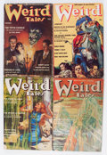 Pulps:Horror, Weird Tales Group (Popular Fiction, 1939) Condition: AverageGD/VG.... (Total: 7 Comic Books)