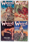 Pulps:Horror, Weird Tales Group (Popular Fiction, 1938) Condition: Average VG-.... (Total: 6 Comic Books)
