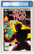 Modern Age (1980-Present):Science Fiction, Star Trek #15 (Marvel, 1981) CGC NM+ 9.6 Off-white pages....