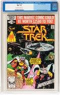 Modern Age (1980-Present):Science Fiction, Star Trek #6 (Marvel, 1980) CGC NM+ 9.6 Off-white to whitepages....