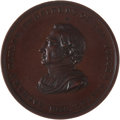 Political:Tokens & Medals, Zachary Taylor: Rare 51 mm. Bronze Indian Peace Medal....