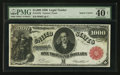 Large Size:Legal Tender Notes, Fr. 187k $1,000 1880 Legal Tender PMG Extremely Fine 40 Net.. ...