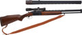 Long Guns:Other, Savage/Valmet Model 2400 Combination Rifle/Shotgun With BushnellScopechief IV 1.5x - 4.5x Scope.... (Total: 2 Items)