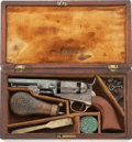 Antiques:Antiquities, Cased Colt Model 1849 Pocket Revolver. ... (Total: 3 Items)