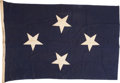 Military & Patriotic:WWII, . Admiral W.D. Leahy Full Admiral Flag . ...