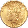 Indian Eagles, 1915 $10 MS64 PCGS....