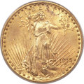 Saint-Gaudens Double Eagles, 1915 $20 MS64 PCGS....