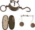 Western Expansion:Goldrush, Lot of Two Old West Collectibles.... (Total: 2 Items)