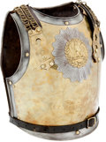 Militaria:Armor, French 19th Century Carabinier's Cuirass.... (Total: 2 Items)