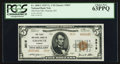 National Bank Notes:Kansas, Chanute, KS - $5 1929 Ty. 2 The First NB Ch. # 3819. ...