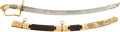Edged Weapons:Swords, Absolutely Magnificent Quality, Extremely High Grade, British Lion Head Officer's Saber Presented to Major William Ross As Com...
