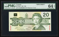 Canadian Currency: , BC-58aS $20 1991 SPECIMEN. ...