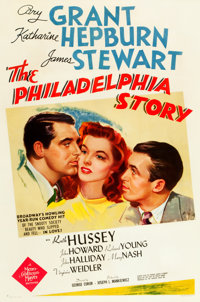 "The Philadelphia Story (MGM, 1940). One Sheet (27"" X 41"") Style D"