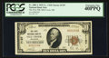 National Bank Notes:Oklahoma, Mill Creek, OK - $10 1929 Ty. 1 The First NB Ch. # 7197. ...