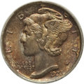 Mercury Dimes: , 1923 10C MS66 Full Bands PCGS. PCGS Population (163/64). NGCCensus: (98/29). Mintage: 50,130,000. Numismedia Wsl. Price fo...