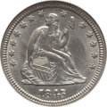 Seated Quarters: , 1845 25C MS62 NGC. NGC Census: (9/39). PCGS Population (13/27).Mintage: 922,000. Numismedia Wsl. Price for problem free NG...