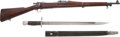 Long Guns:Bolt Action, Rock Island Arsenal U.S. Model 1903 Bolt Action Rifle andBayonet.... (Total: 2 Items)
