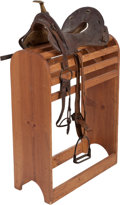 Military & Patriotic:WWI, Early 19th Century U.S. Army Mule Saddle....