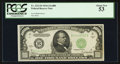 Small Size:Federal Reserve Notes, Fr. 2212-B $1000 1934A Federal Reserve Note. PCGS About New 53.. ...