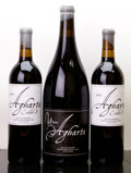 Domestic Syrah/Grenache, Agharta Wines Red. 2005 signed label Magnum (1). 2006 ExhibitB Bottle (2). ... (Total: 2 Btls. & 1 Mag. )