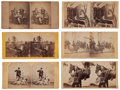 Photography:Stereo Cards, Interesting Group Of Six Civil War Stereo Views.... (Total: 6 Items)
