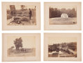 Photography:CDVs, Group of Four Great Brady Album Gallery Views Related To Antietam. ... (Total: 4 Items)