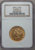 Liberty Eagles: , 1906-O $10 AU55 NGC. NGC Census: (16/329). PCGS Population(33/246). Mintage: 86,895. Numismedia Wsl. Price for problem fre...