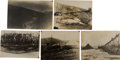 Photography:Cabinet Photos, [Alaska Gold Mining]. Lot of Five Original Prints of Gold MiningOperations in the Fairbanks District, Circa 1904-1906.... (Total: 5Items)