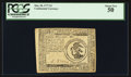 Colonial Notes:Continental Congress Issues, Continental Currency May 20, 1777 $3 PCGS About New 50.. ...