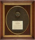 Military & Patriotic:Civil War, Bullet Struck Watch from the personal effects of Dr. Joseph E. Winants, Acting Assistant Surgeon who was a contract Surgeon to...