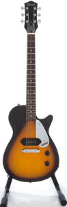 Musical Instruments:Electric Guitars, 2000s Gretsch G2101 Electromatic Junior Jet Sunburst Solid BodyElectric Guitar....