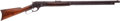 Long Guns:Lever Action, Model 1881 Marlin 45/70 Caliber Rifle Shipped to Famed Denver Gun Sellers J. P. Lower, with their Name Stamped on the Top of t...